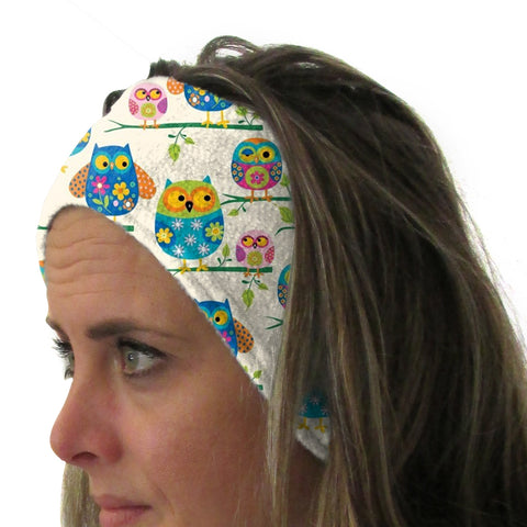 Hooting Owls Youth and Adult Head Band