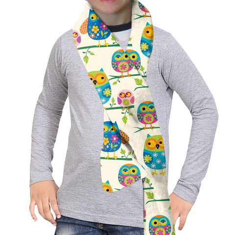 Hooting Owls Scarf