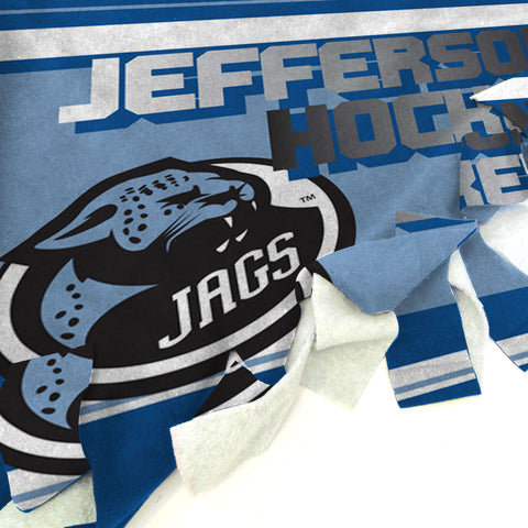 Jefferson Hockey Panel Blanket Tie Kit