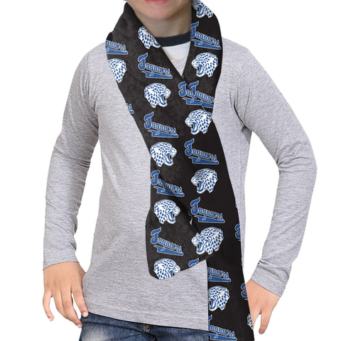 Jefferson Jaguars Black Scarf