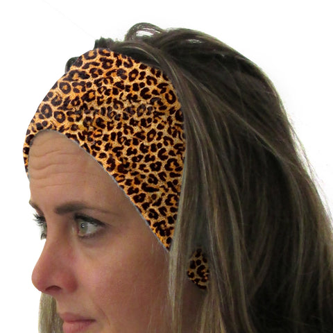 Jungle Cat Youth and Adult Head Band