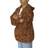 Jungle Cat Adult Hooded Top