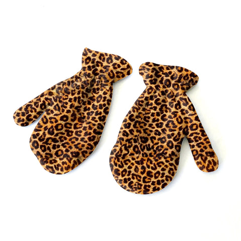 Jungle Cat Mitten - Double Sided