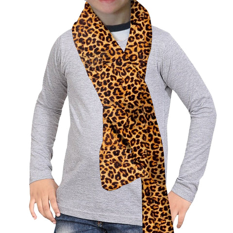 Jungle Cat Scarf - Double Sided