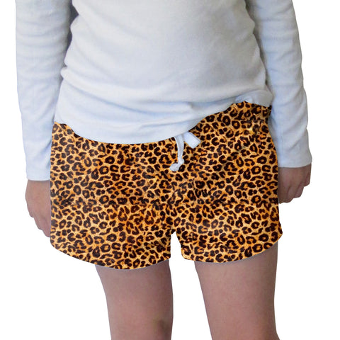 Jungle Cat Womens Short Short