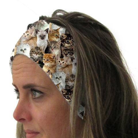 Kitties Rule Youth and Adult Head Band