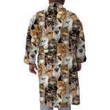 Kitties Rule Youth and Adult Robe