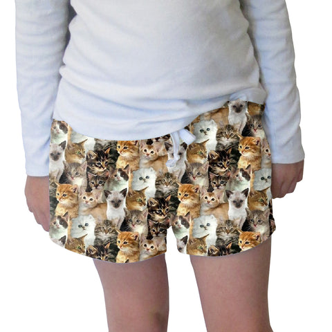 Kitties Rule Womens Short Short