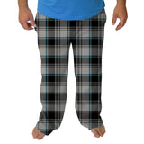 London Plaid Charcoal Mens Adult Pant