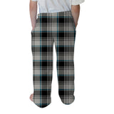 London Plaid Charcoal Youth Pant