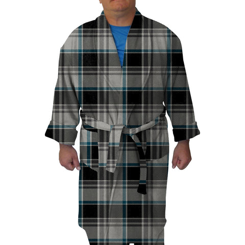 London Plaid Charcoal Youth and Adult Robe