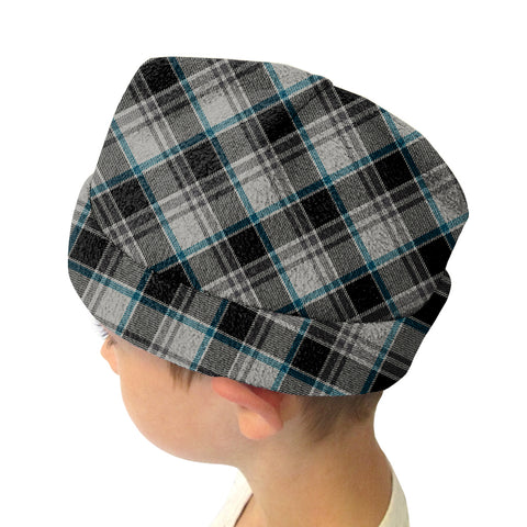 London Plaid Charcoal Youth and Adult Hat