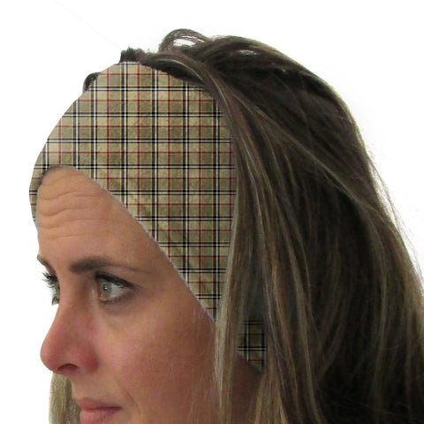 London Plaid Youth and Adult Head Band