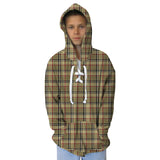 London Plaid Adult Hooded Top