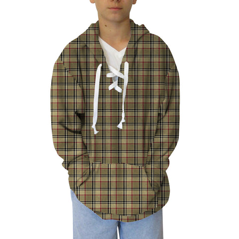 London Plaid Youth Hooded Top