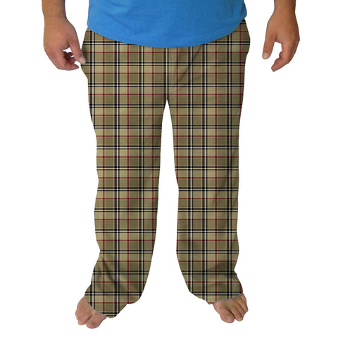 London Plaid Mens Adult Pant