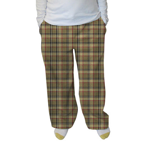 London Plaid Womens Adult Pant