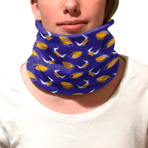 MN Pro Football Youth and Adult Neck Warmer