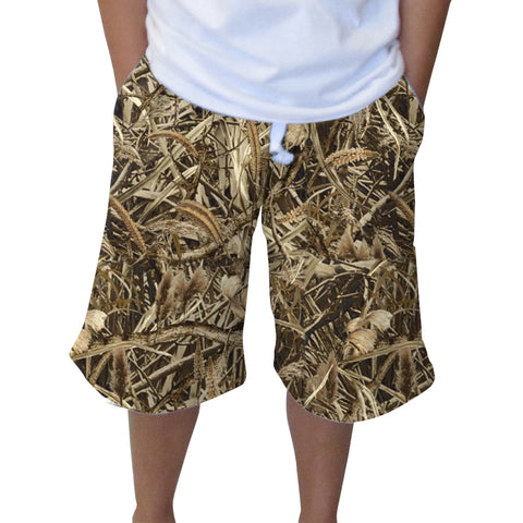 Marsh Camo Adult Knee Length Short
