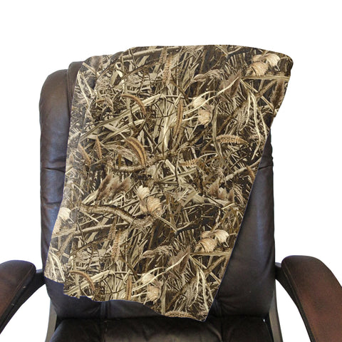 Marsh Camo Blanket - Double Sided