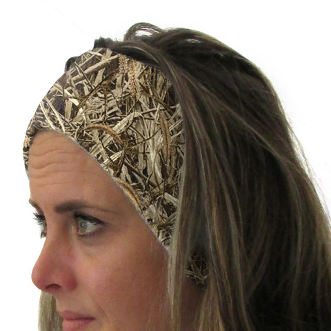 Marsh Camo Youth and Adult Head Band