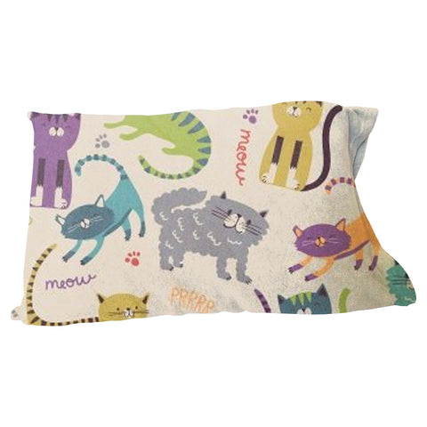 Meow Meow Pillow Case
