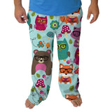 Nerdy Forest Buddies Mens Adult Pant
