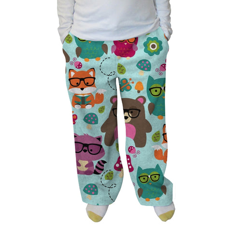 Nerdy Forest Buddies Womens Adult Pant