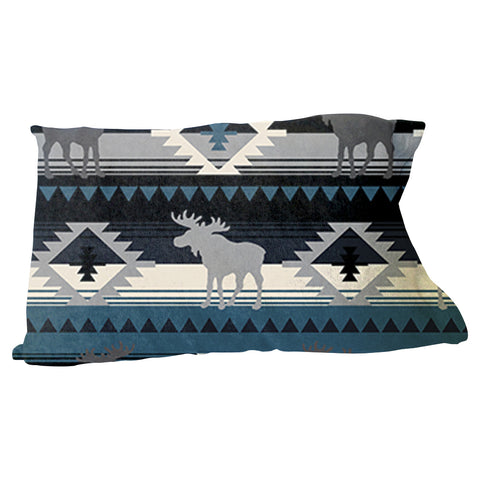 Northern Moose Pillow Case