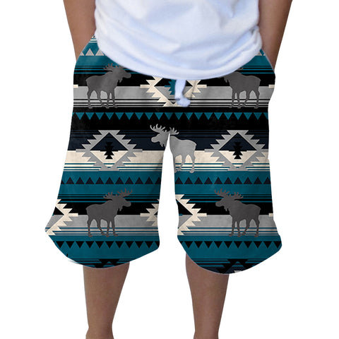 Northern Moose Youth Knee Length Short