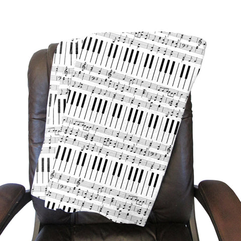 Piano Piano! Blanket - Double Sided