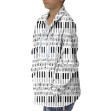 Piano Piano! Youth Collared Top