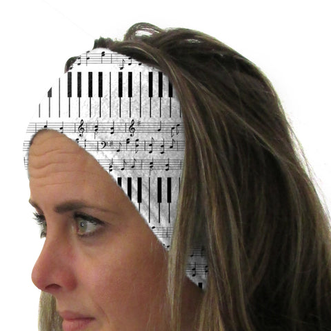 Piano Piano! Youth and Adult Head Band