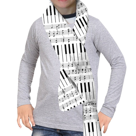 Piano Piano! Scarf - Double Sided