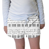 Piano Piano! Womens Short Short
