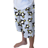 Penguin Party Adult Knee Length Short