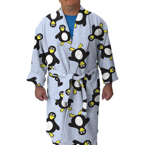 Penguin Party Youth and Adult Robe