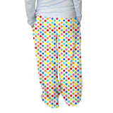 Polka Dots Multi Color Womens Adult Pant