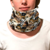 Puppies Rule Youth and Adult Neck Warmer