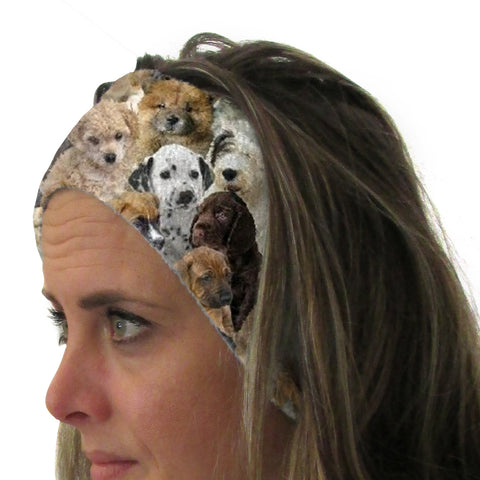 Puppies Rule Youth and Adult Head Band