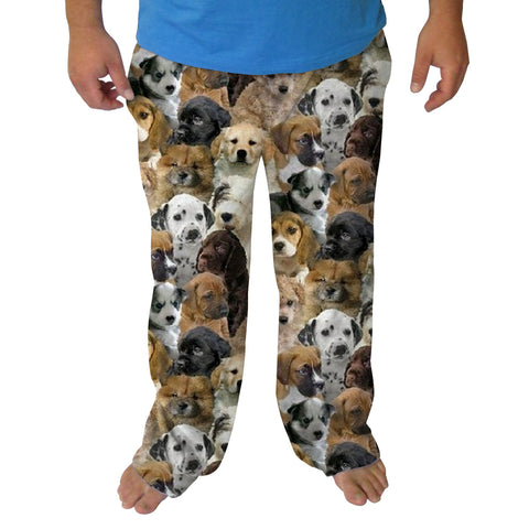 Puppies Rule Mens Adult Pant