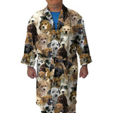 Puppies Rule Youth and Adult Robe