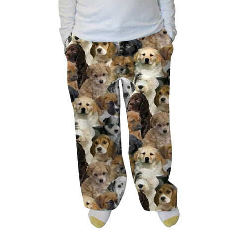Puppies Rule Womens Adult Pant