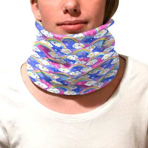 Rainbow Youth and Adult Neck Warmer