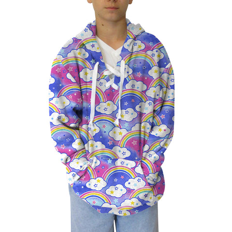 Rainbow Youth Hooded Top