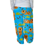 Relaxing Otters Womens Adult Pants