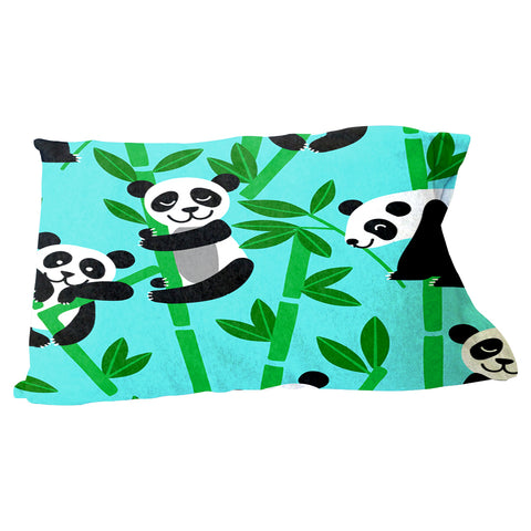 Panda Panda Pillow Case