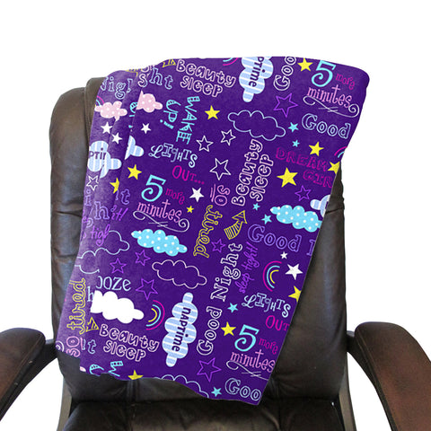 Sleep Time Blanket - Double Sided