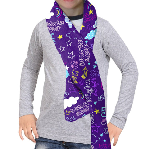 Sleep Time Scarf - Double Sided