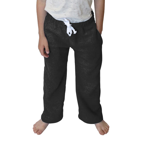 Solid Black Toddler Pant